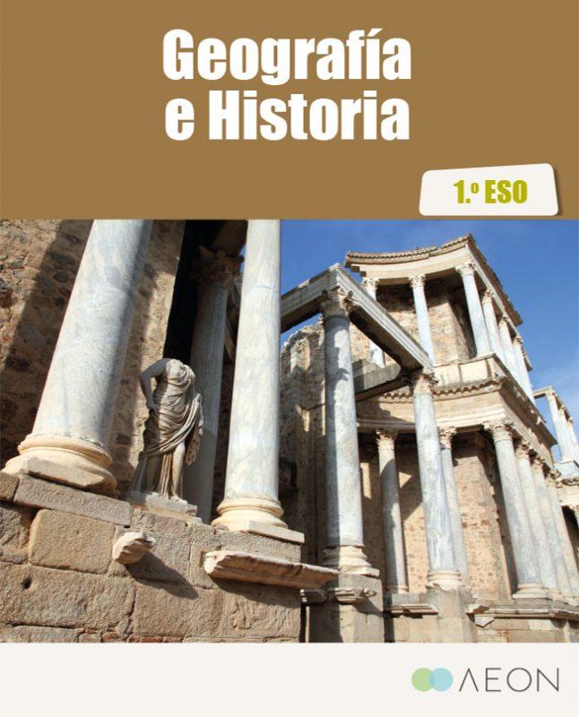 Solicitud de la muestra de los libros de texto de Geografía e Historia de la ESO.